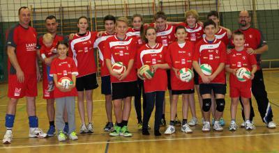 Foto zur Meldung: Volleyballer des SC Laage mit neuen Trainingszeiten