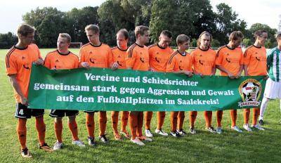 Foto zur Meldung: Saisoneröffnungsspiel der Herren in die Saison 2014/15