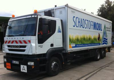 Foto zur Meldung: Schadstoffmobil vor Ort