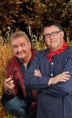 Foto zur Meldung: Verrückt und liebenswert- Hellwig und Kurt!  Eine humorige Show aus Mecklenburg am 21. September auf dem Kartoffelfest zu erleben!