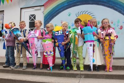 Foto zur Meldung: Schulanfang 2014
