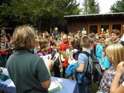 Foto zu Meldung: 13. Waldjugendspiele der Waldschule in Rathenow