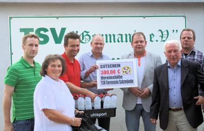 Foto zur Meldung: Vereinsdialog beim TSV Germania Salzmünde e.V.