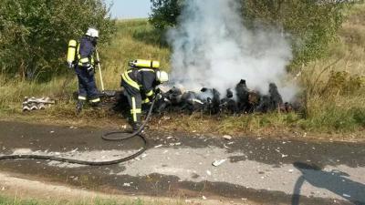 Foto zu Meldung: Feuer im Roten Luch