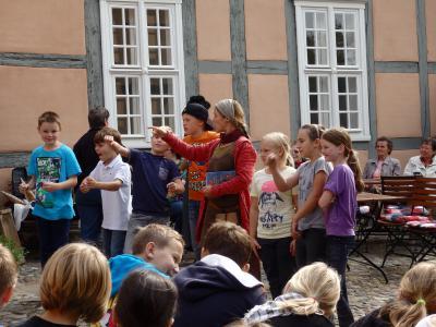 Foto zur Meldung: Mit Ritter und Burgfräulein