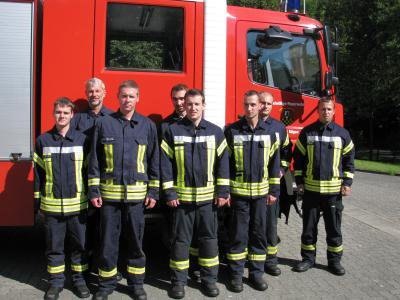Wettkampfmannschaft der FF Putbus