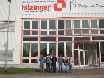 Foto zur Meldung: Klasse 10 besucht Hilzinger