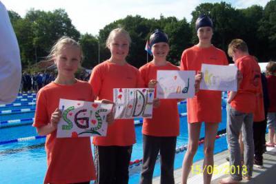 Foto zu Meldung: Schwimmausbildung im TV Hude wird fortgesetzt