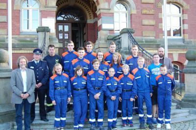 Foto zur Meldung: Jugendfeuerwehr Kemmen qualifiziert sich für Landesjugendmeisterschaft