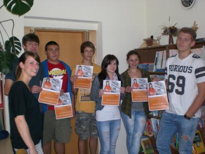 Foto zur Meldung: WAD berät Klasse 10