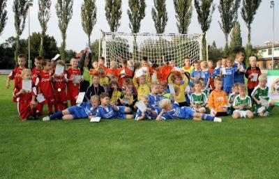 Foto zur Meldung: 8 Mannschaften, 52 Tore und Spiel, Spaß und Freunde