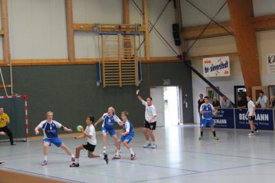 Foto zur Meldung: Oberliga HH/SH  TSV Sieverstedt I – SG Flensburg-Handewitt I  19 : 27
