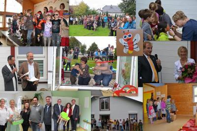 Foto zur Meldung: Neue Krippengruppe in der Villa Kunterbunt eröffnet