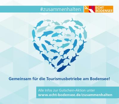 Foto zur Meldung: Bodensee - wir halten zusammen