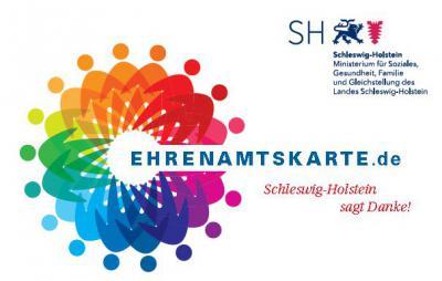 Foto zur Meldung: Die Ehrenamtskarte Schleswig-Holstein