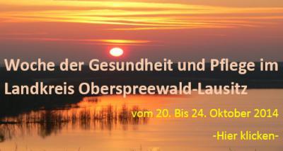 """Foto zur Meldung: """"Woche der Gesundheit und Pflege"""" in OSL startet am 20. Oktober"""