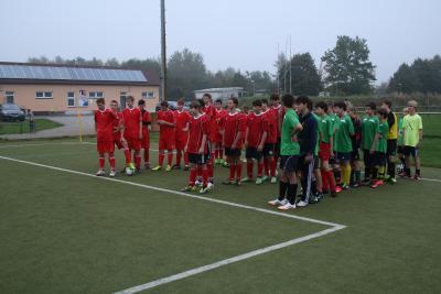 Foto zur Meldung: Kreisfinale Jugend trainiert Fußball WK III Senftenberg