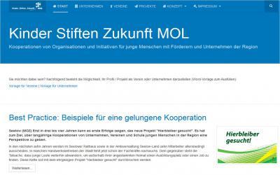 Foto zur Meldung: Fachtagungen zur Vernetzung Bildung und Ausbildung im Landkreis.