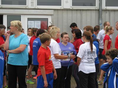 Foto zu Meldung: 1.OSPA Walking-und Lauf -Tag in Laage