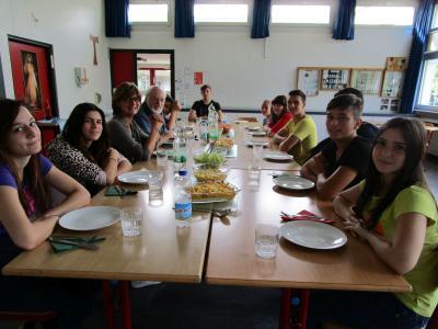 Foto zur Meldung: Letztmals Einführungswoche an der Georg-Hager-Schule