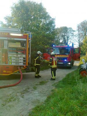 Foto zu Meldung: Brandeinsatz für den Löschzug 1