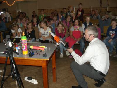 Foto zur Meldung: 17. Kinderhörsaal in Rückersdorf