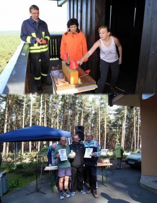 Foto zu Meldung: 70-Jähriger lässt Jüngere hinter sich – 5. Heidebergturmtreppenlauf