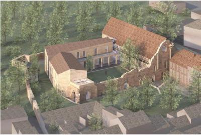 Vorschaubild zur Meldung: Entwicklung des Franziskanerklosters Kyritz zum Kulturstandort