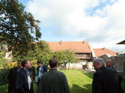 Vorschaubild zur Meldung: Schaustelle Stadtkern: Vom Franziskanerkloster zum Kulturstandort Kyritz