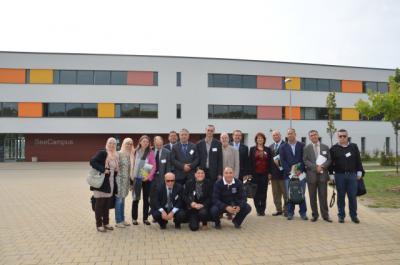 Foto zur Meldung: Tunesische Delegation zu Gast auf dem SeeCampus Niederlausitz