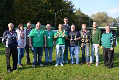 Sieger und Platzierte beim Pokalschiessen in Wusterhausen