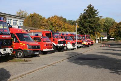 Foto zur Meldung: Sonniger 36. Feuerwehrtag in Rheinböllen
