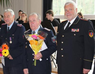 Foto zur Meldung: 14. Treffen der Alters- und Ehrenabteilungen der Freiwilligen Feuerwehren im Kreisverband Oberhavel am 18.10.2014