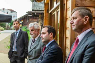 Foto zur Meldung: Geschäftsführer der ZukunftsAgentur Brandenburg ZAB besuchte Landkreis