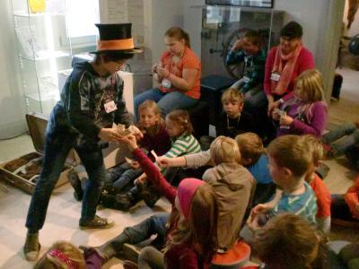 Foto zur Meldung: Woche voller Ferienspaß im Wegemuseum