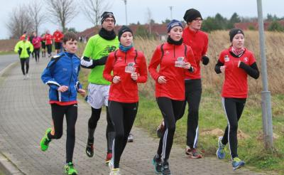 Foto zur Meldung: 7.OSPA-Stadtlauf beschließt das Laufsportjahr in Laage