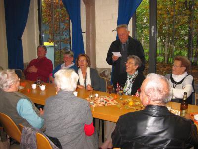 Foto zu Meldung: Traditioneller Seniorennachmittag mit der Laufgruppe des SC Laage