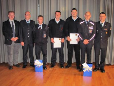 Foto zur Meldung: Neue Führung bei der Jugendfeuerwehr Rheinböllen
