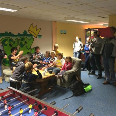 Foto zur Meldung: Viele Aktionen der mobilen Jugendarbeit