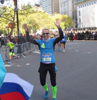 Foto zu Meldung: Gemeinsam den New-York-City-Marathon verfolgt