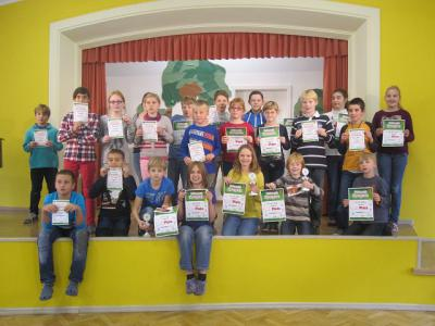 Foto zu Meldung: Mathematikolympiade 2014/15 Siegerehrung