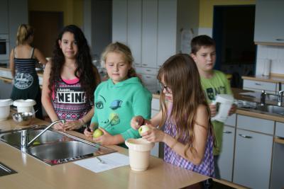 Foto zur Meldung: Nachmittags-AG: Kochen an der Erich Kästner-Schule
