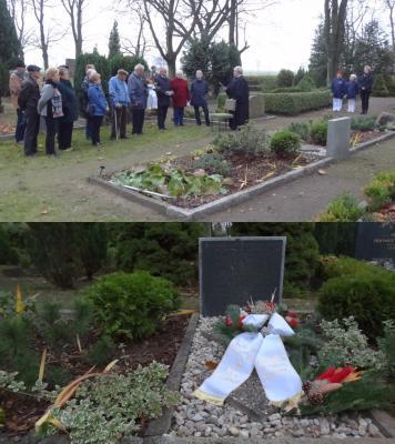 Foto zur Meldung: Gedenken an die Kriegstoten und Opfer der Gewaltherrschaft