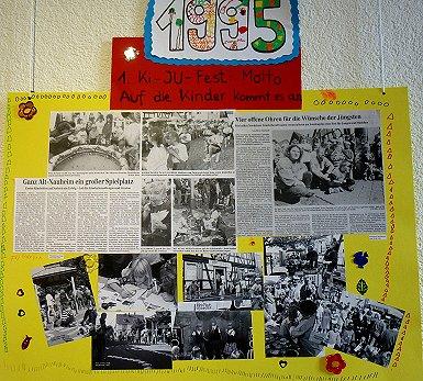 """Foto zur Meldung: Ausstellung """"20 Jahre Nauheimer Kinder- und Jugendfest"""" jetzt im Rathaus"""