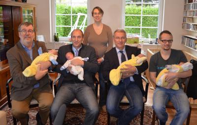 Foto zu Meldung: Oranienburger Ehepaar bringt Vierlinge zur Welt