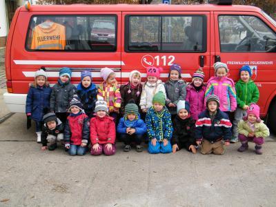 Foto zur Meldung: Besuch bei der Feuerwehr