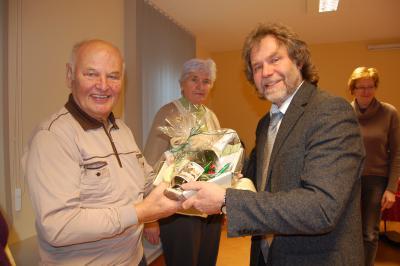 Foto zu Meldung: Berufung der neuen Mitglieder für den Calauer Seniorenbeirat - Verabschiedung vom Seniorenbeiratsvorsitzenden Gerhard Scholz
