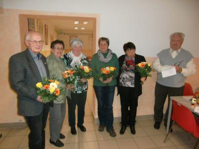 Foto zur Meldung: Rehfelder Heimatfreunde wählten neuen Vorstand