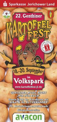 Foto zur Meldung: 22. Genthiner Kartoffelfest