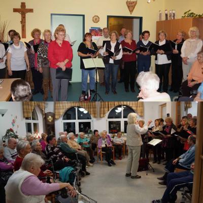 Foto zu Meldung: Weihnachtliche Chormusik bringt Freude